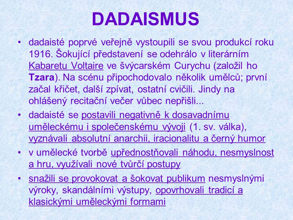 DADAISMUS
