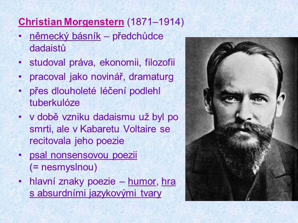 Christian Morgenstern (1871–1914)