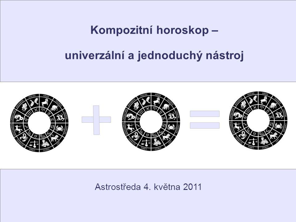 Kompozitní horoskop – univerzální a jednoduchý nástroj