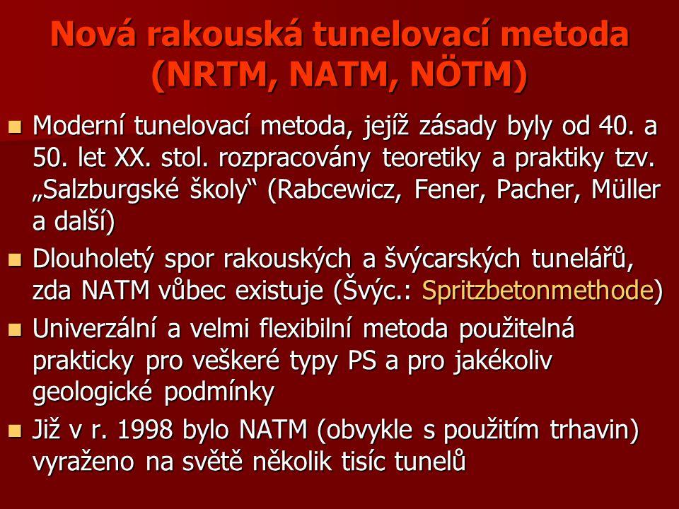 Nová rakouská tunelovací metoda (NRTM, NATM, NÖTM)