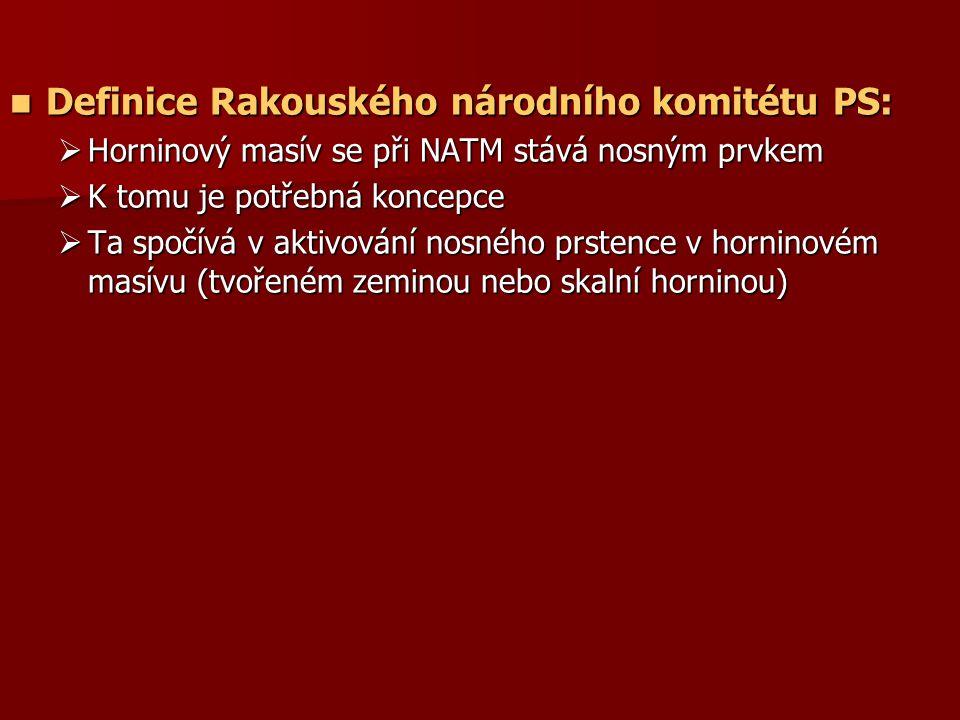 Definice Rakouského národního komitétu PS: