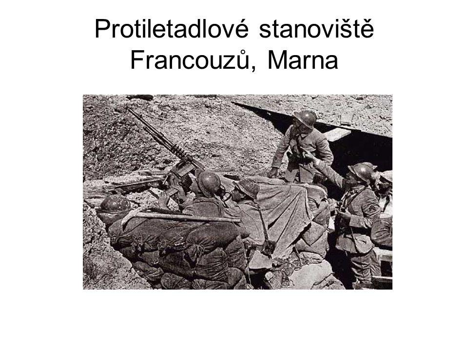 Protiletadlové stanoviště Francouzů, Marna