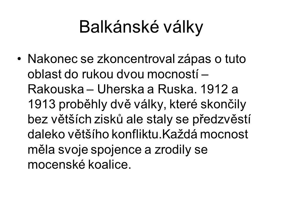 Balkánské války