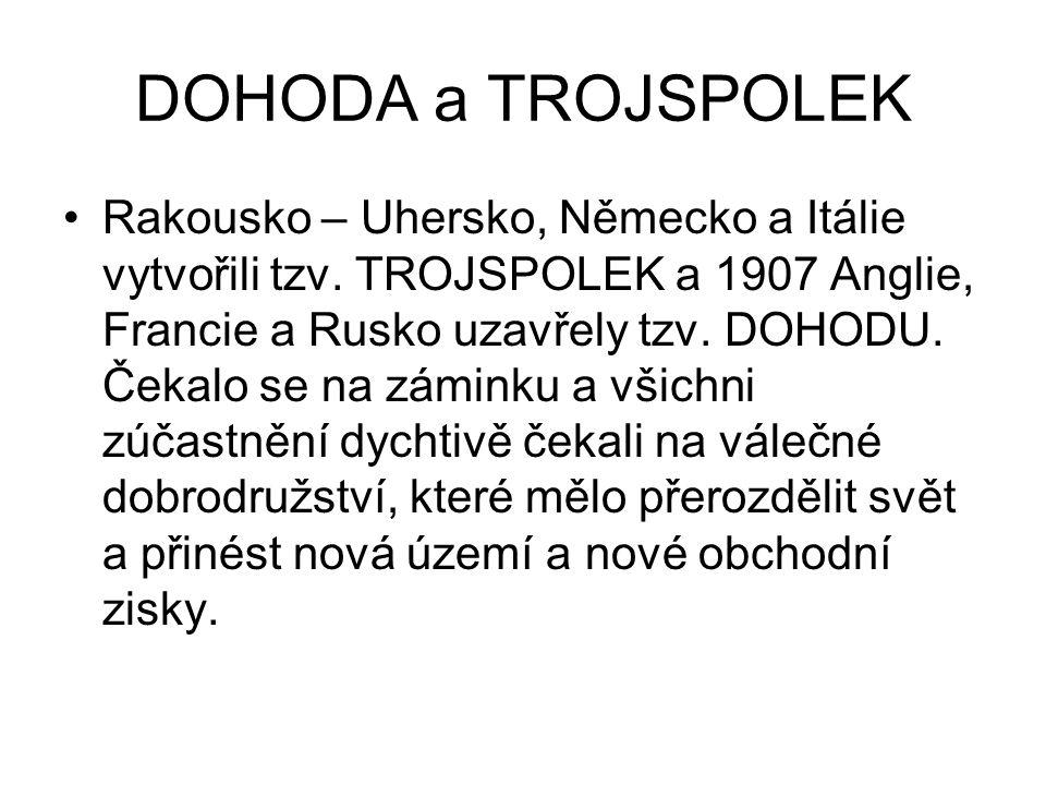DOHODA a TROJSPOLEK