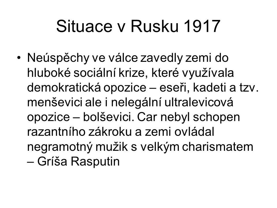 Situace v Rusku 1917