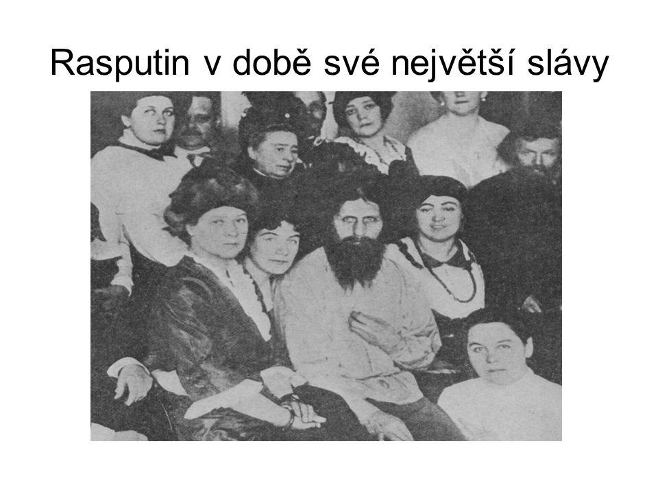Rasputin v době své největší slávy