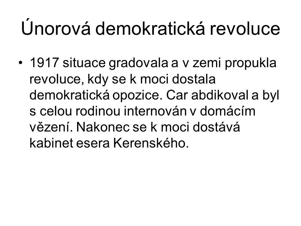 Únorová demokratická revoluce
