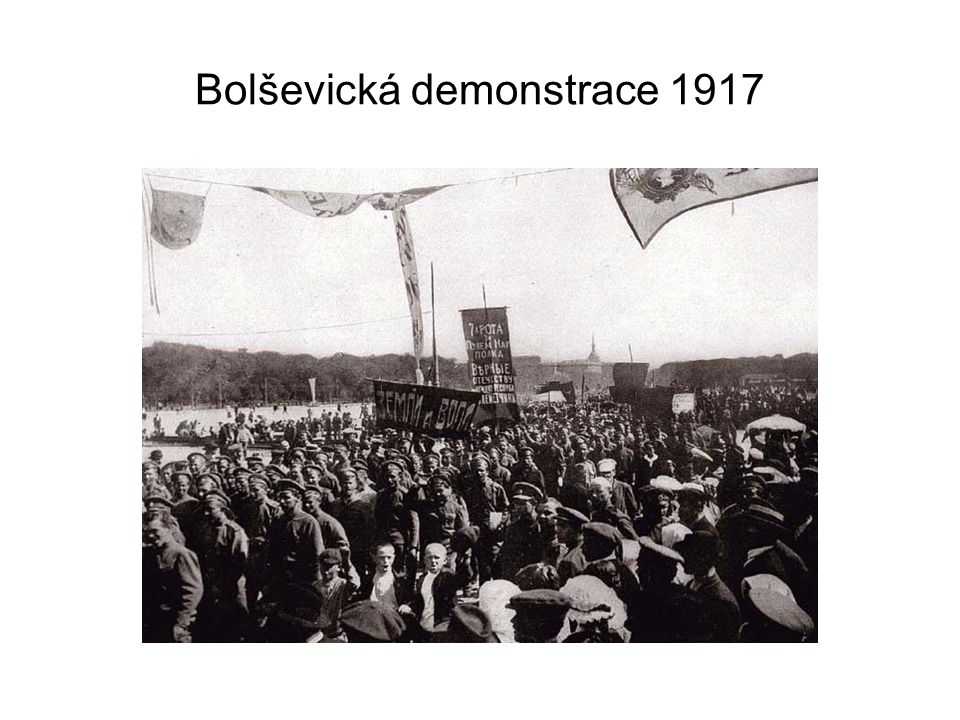 Bolševická demonstrace 1917