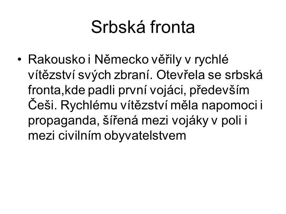 Srbská fronta