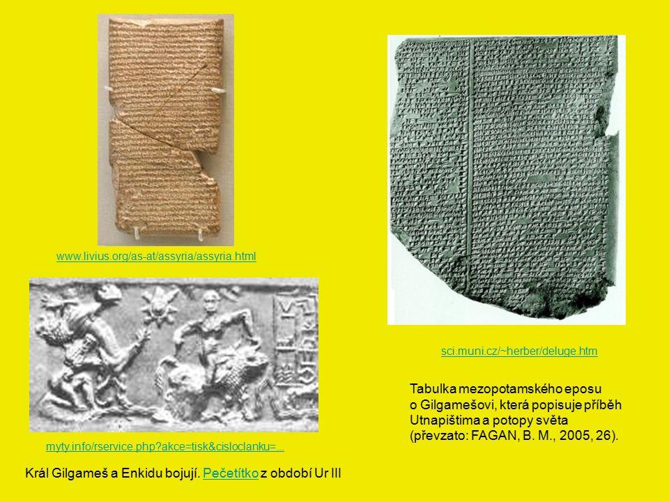 Tabulka mezopotamského eposu