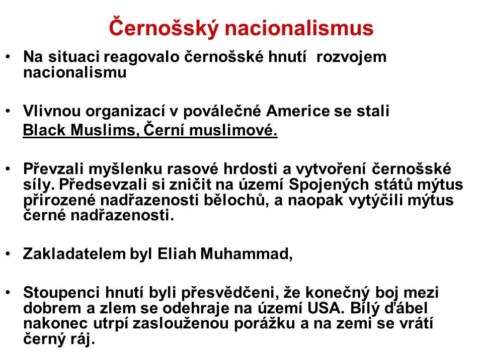Černošský nacionalismus