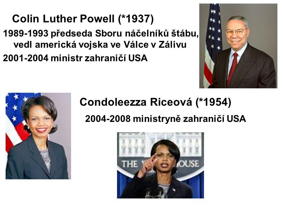 Condoleezza Riceová (*1954)