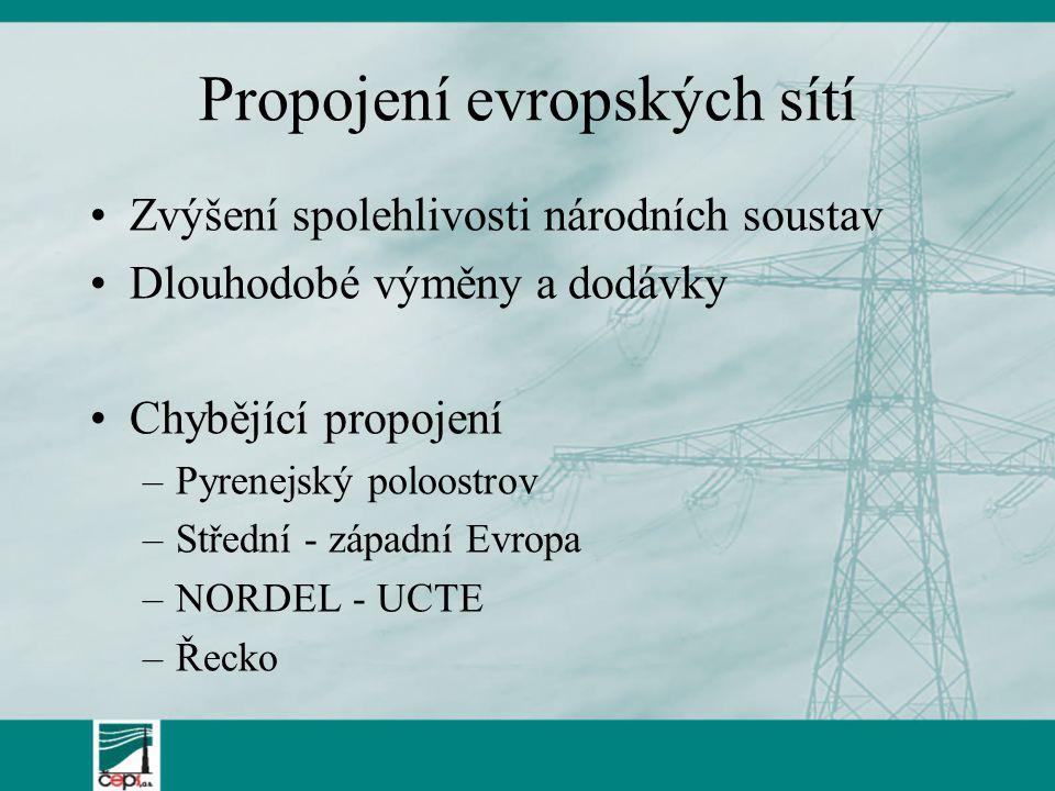 Propojení evropských sítí