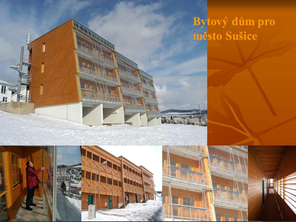 Bytový dům pro město Sušice