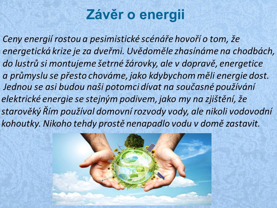 Závěr o energii