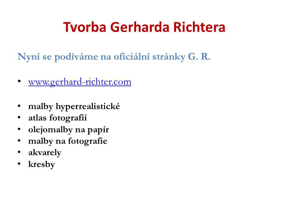 Tvorba Gerharda Richtera