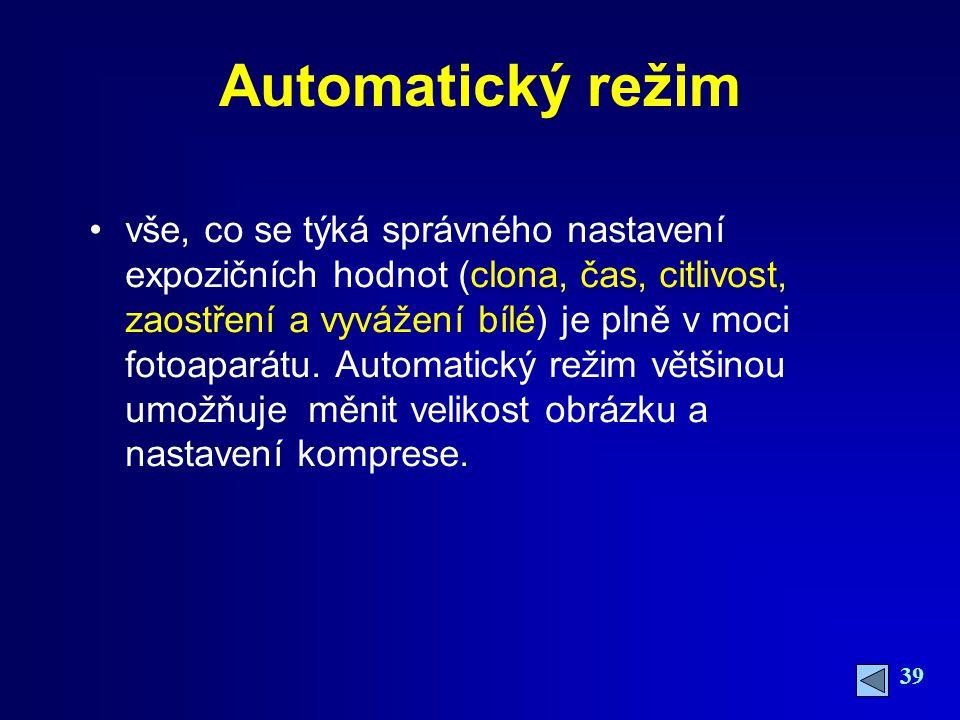 Automatický režim