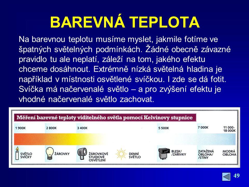 BAREVNÁ TEPLOTA