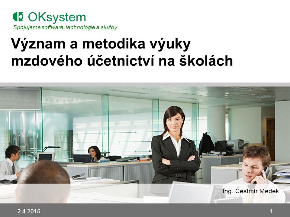Význam a metodika výuky mzdového účetnictví na školách