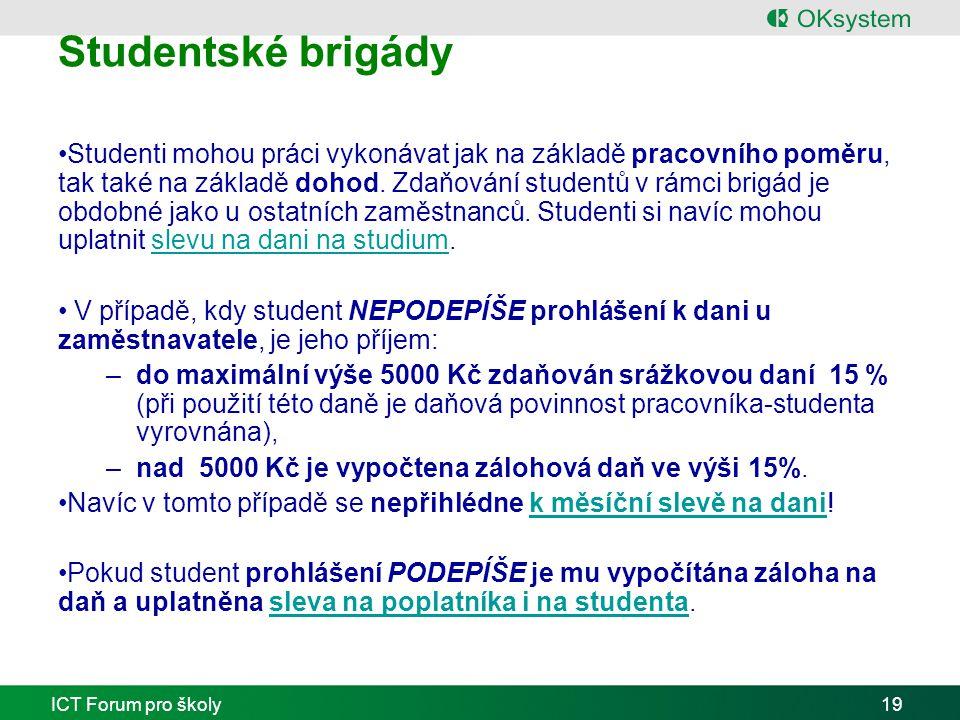 Studentské brigády