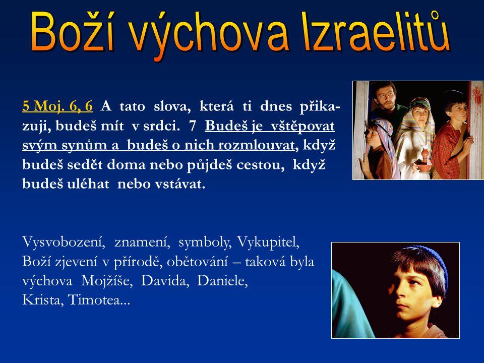 Boží výchova Izraelitů