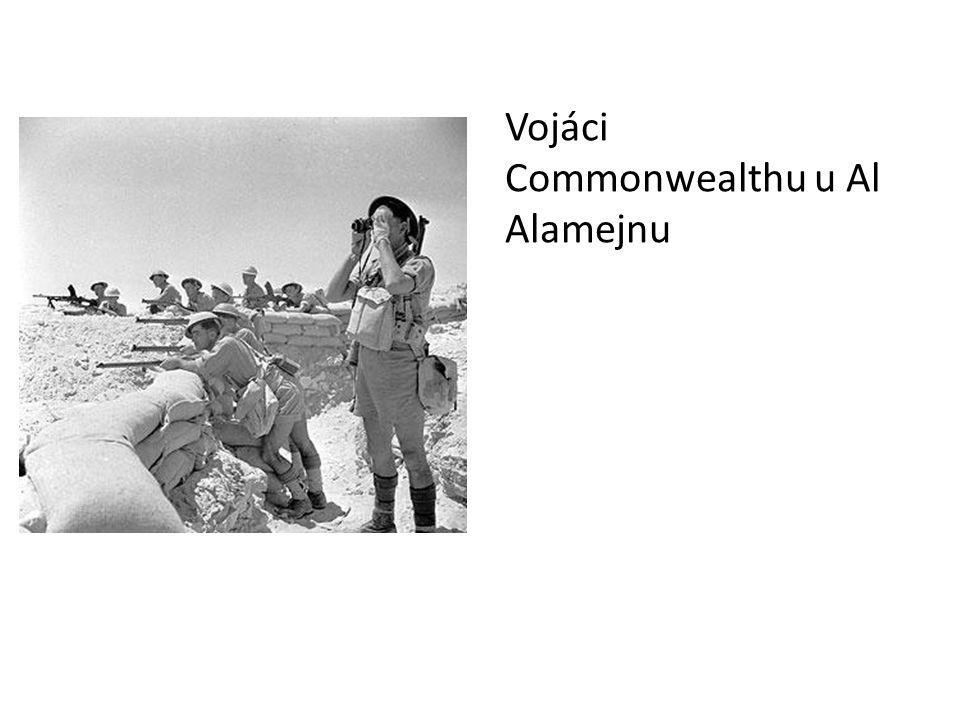 Vojáci Commonwealthu u Al Alamejnu