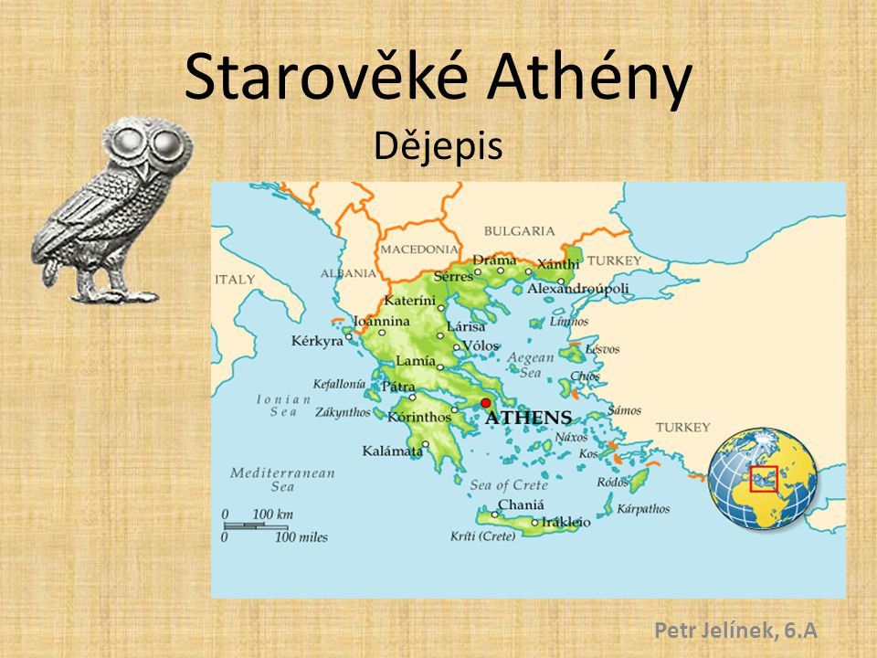 Starověké Athény Dějepis