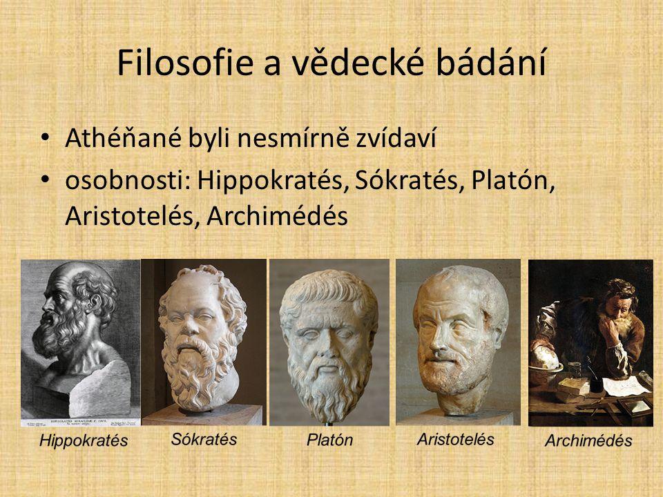 Filosofie a vědecké bádání