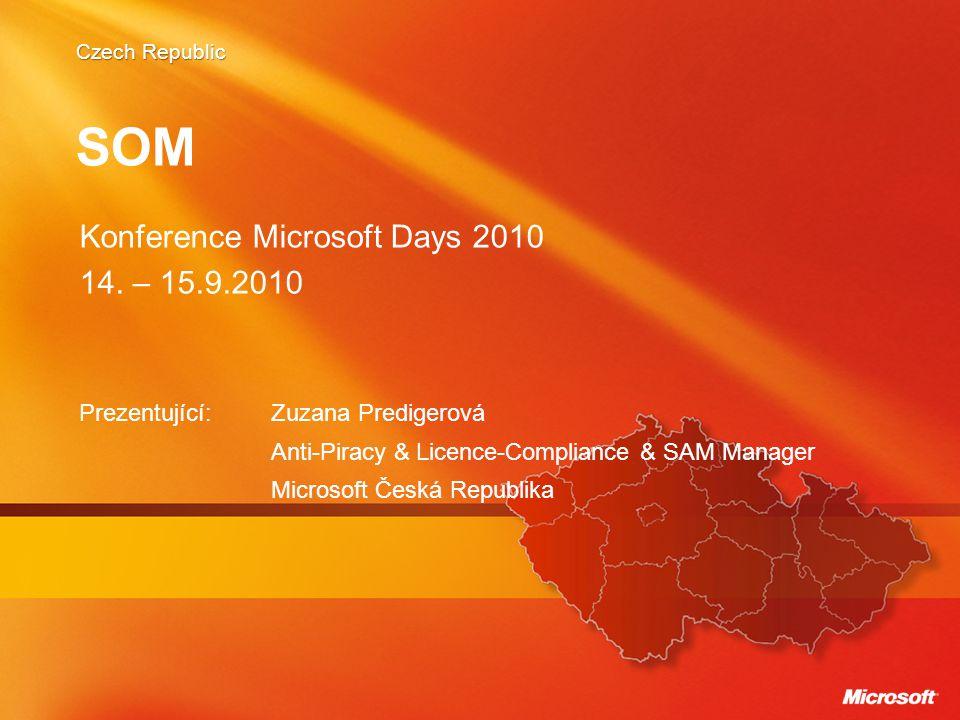SOM Konference Microsoft Days 2010 14. – 15.9.2010