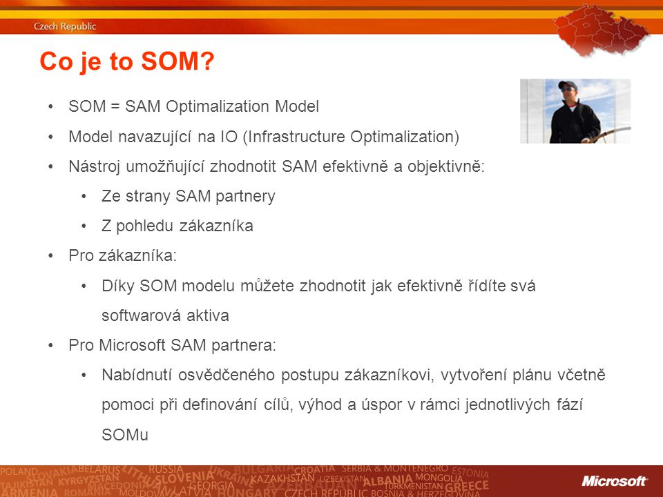 Co je to SOM SOM = SAM Optimalization Model