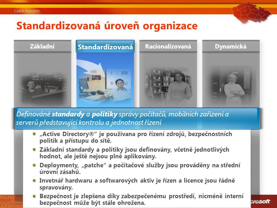 Standardizovaná úroveň organizace