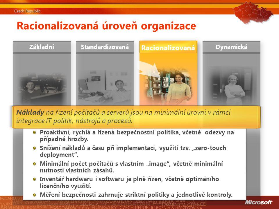 Racionalizovaná úroveň organizace