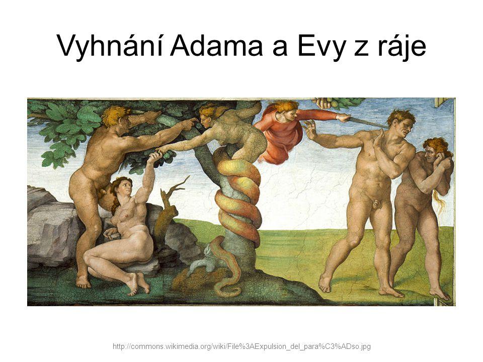 Vyhnání Adama a Evy z ráje