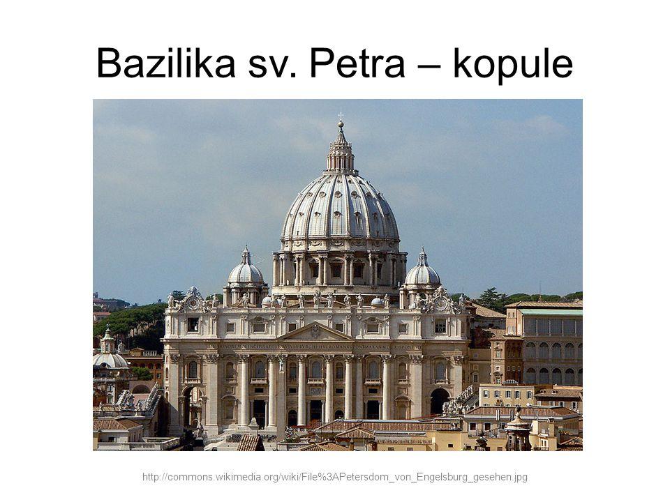 Bazilika sv. Petra – kopule