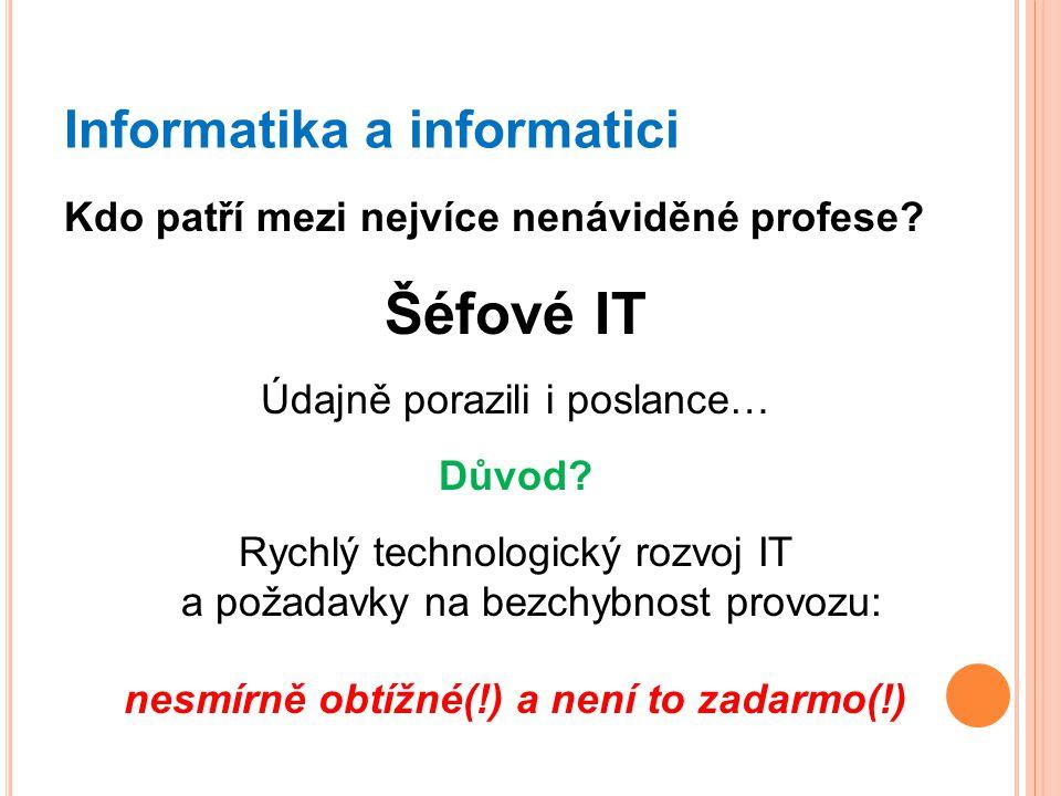 Informatika a informatici
