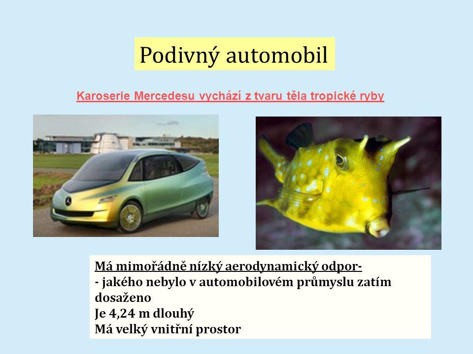 Podivný automobil Má mimořádně nízký aerodynamický odpor-