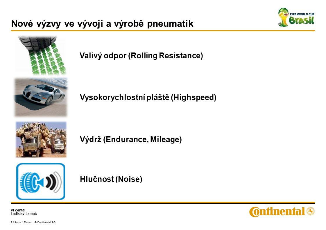 Nové výzvy ve vývoji a výrobě pneumatik
