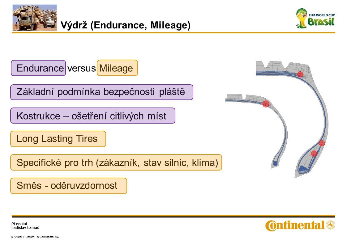 Výdrž (Endurance, Mileage)