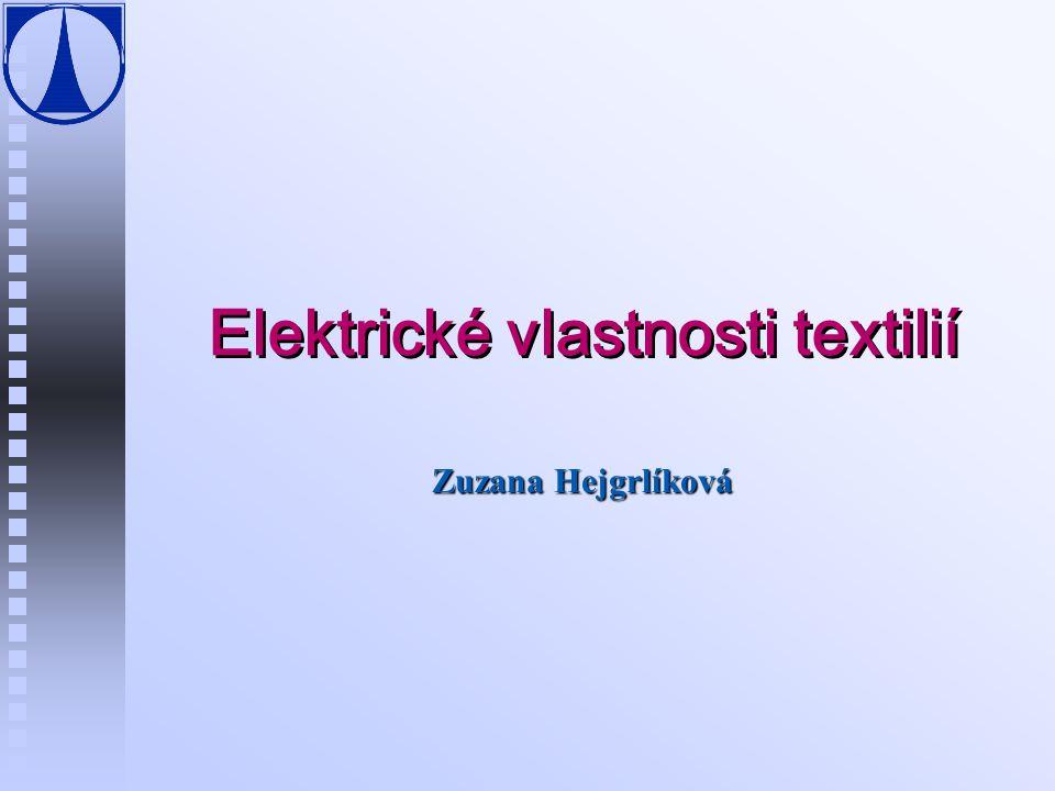 Elektrické vlastnosti textilií