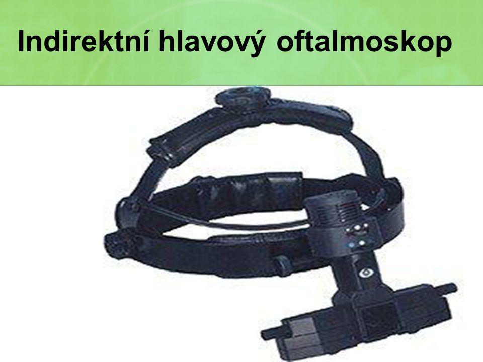 Indirektní hlavový oftalmoskop