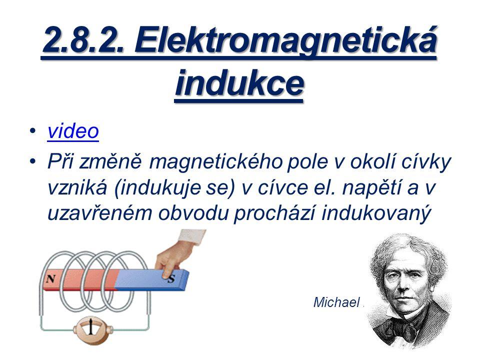 2.8.2. Elektromagnetická indukce