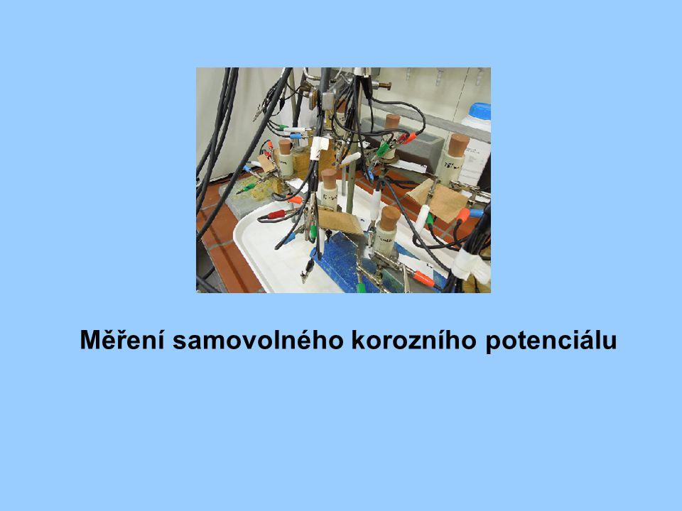 Měření samovolného korozního potenciálu