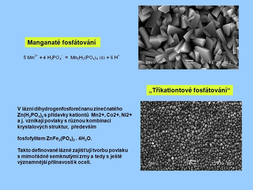 Manganaté fosfátování