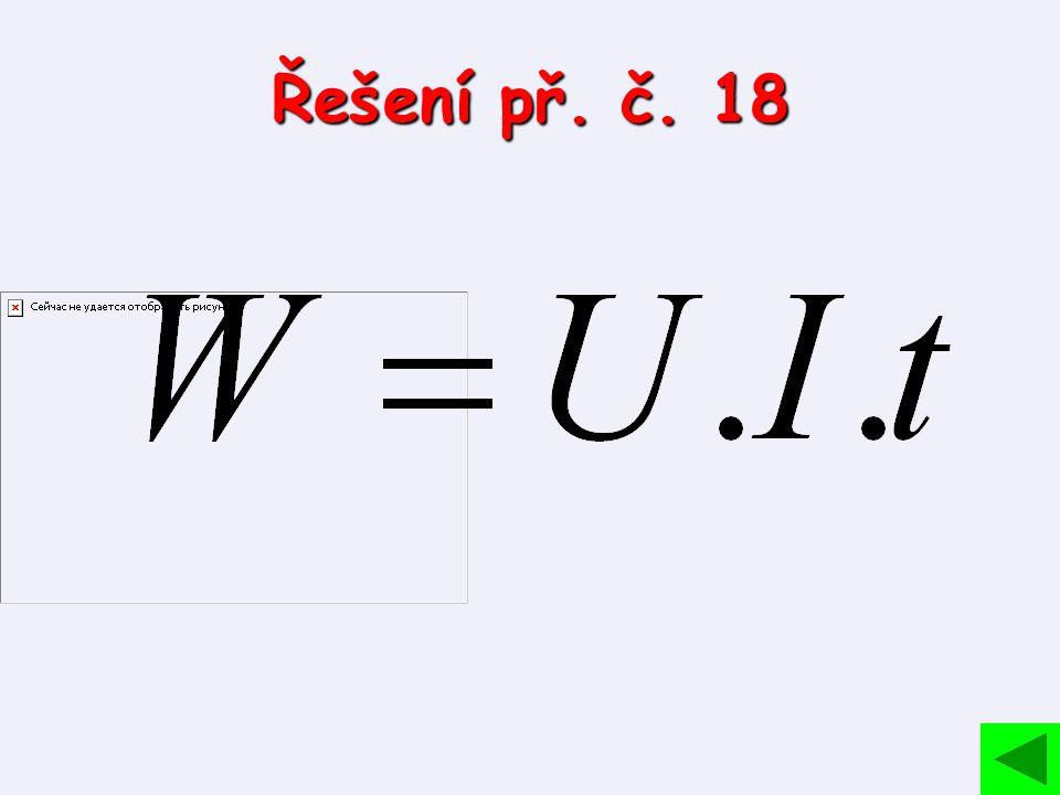 Řešení př. č. 18