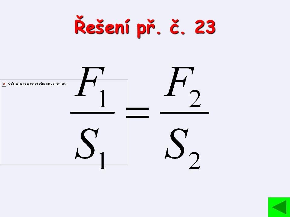 Řešení př. č. 23