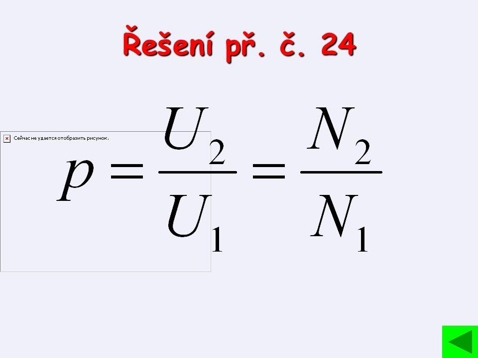 Řešení př. č. 24
