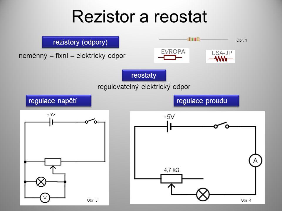 regulovatelný elektrický odpor