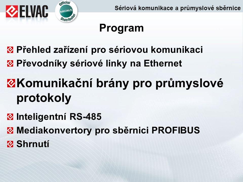 Komunikační brány pro průmyslové protokoly