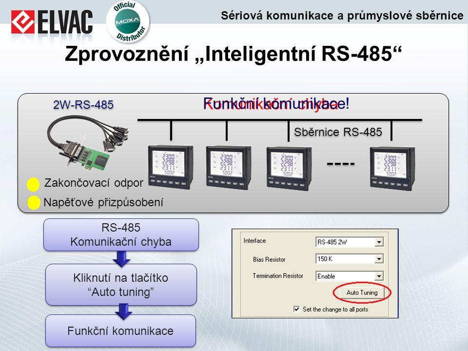 """Zprovoznění """"Inteligentní RS-485"""