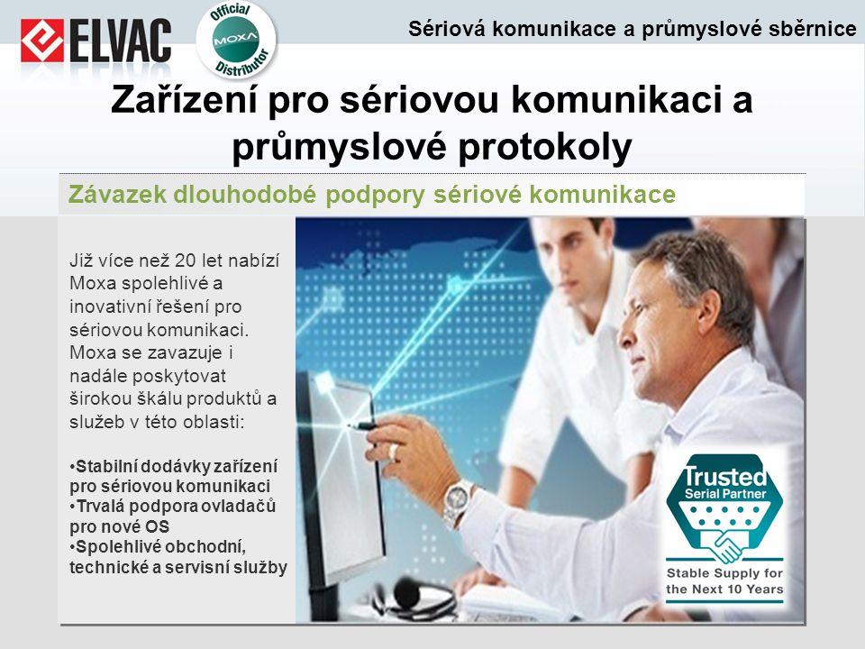 Zařízení pro sériovou komunikaci a průmyslové protokoly